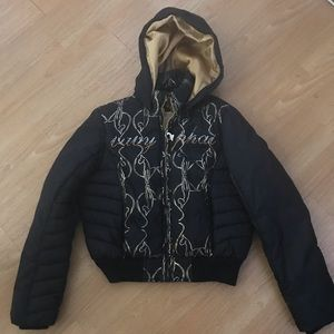Woman  black jacket baby PHAT / size L